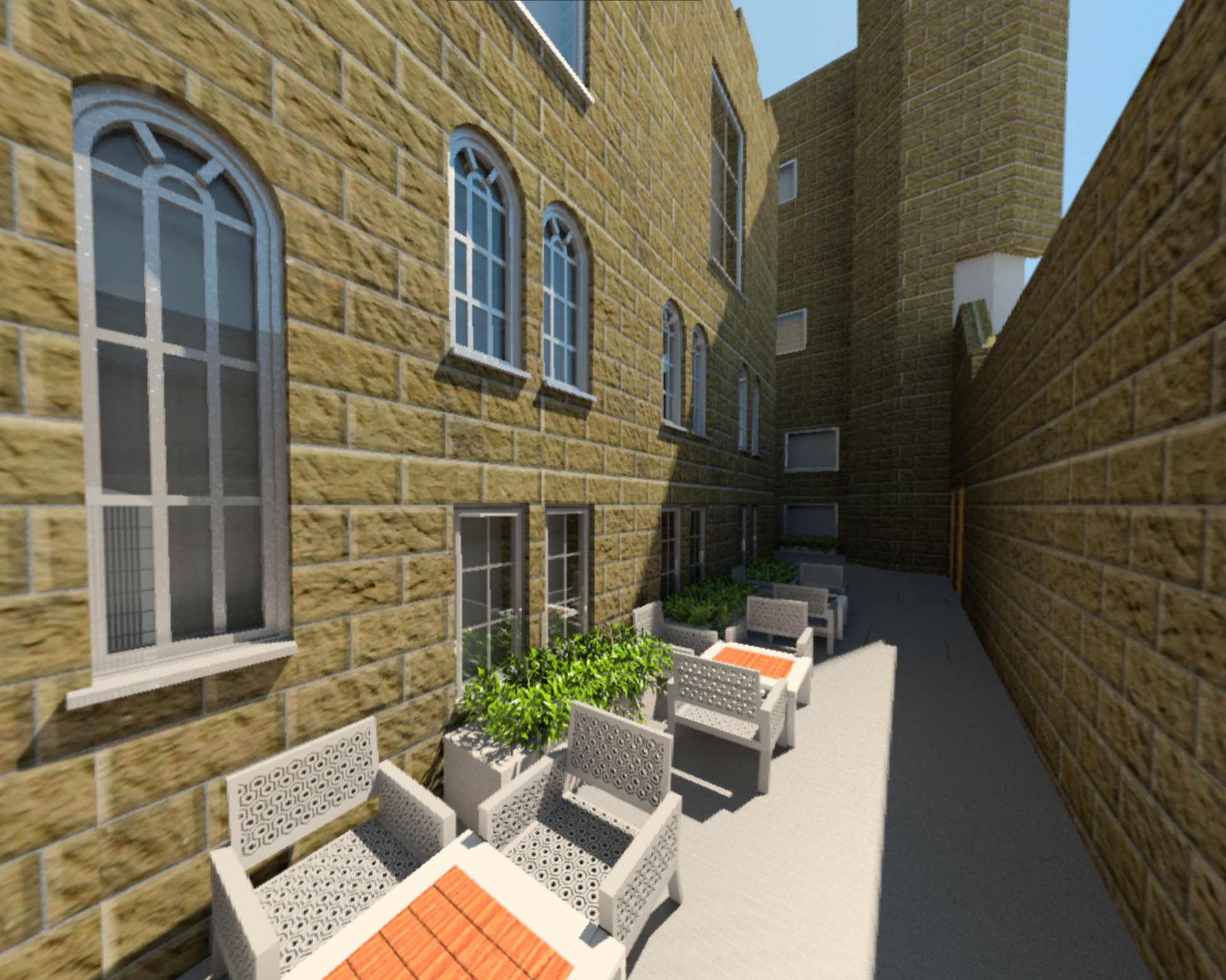 West Courtyard Renovation
