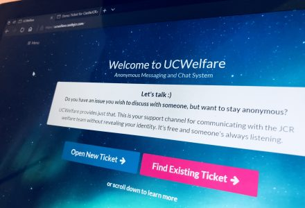 New cool JCR software: UCWelfare!